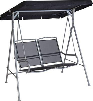 malibu 2 seat swing hammock in black 650 3501 argos support  rh   clickspares co uk